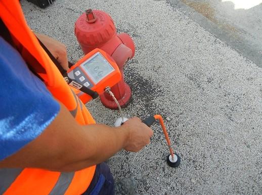 recherche de fuites par gaz traceur