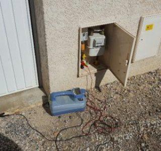 detection reseau gaz en cuivre et georeferencement isere 2