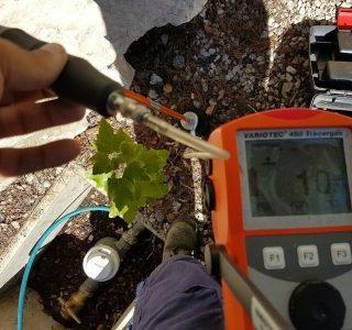 detection fuite eau reseau PE pujaut gard