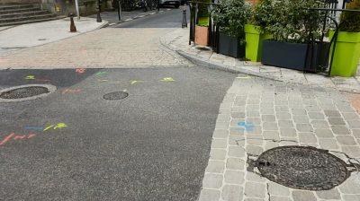 Détection réseaux (eau, gaz, electrique, télécom, eclairage publiqe) à Millau aveyron 2